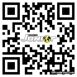 QR code with logo NHp0