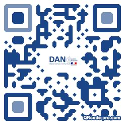 QR code with logo NIg0