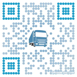 QR code with logo NKQ0