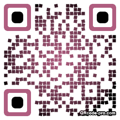 QR code with logo NLw0