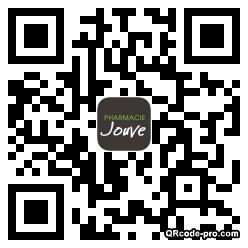 QR code with logo NQE0