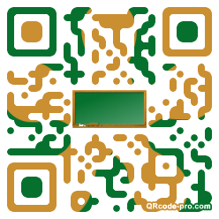 QR code with logo NTD0