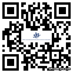 QR code with logo NX70