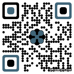 QR code with logo NYk0