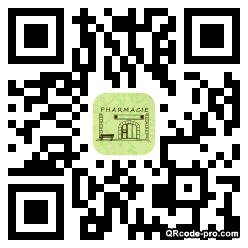 QR code with logo NtQ0