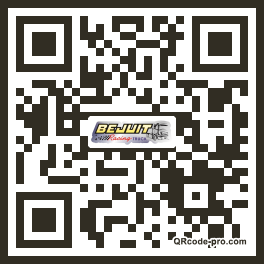 QR code with logo NyG0