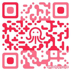QR code with logo Nyr0