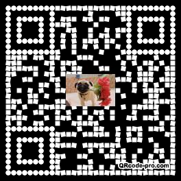 QR code with logo O6Q0