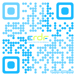 QR code with logo OFD0