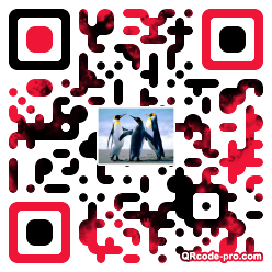 QR code with logo OMK0