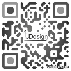 QR code with logo OQ90