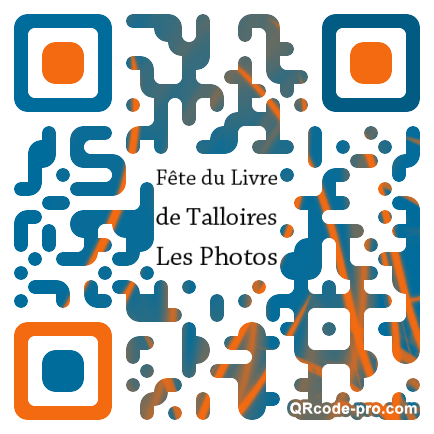 QR code with logo ORM0