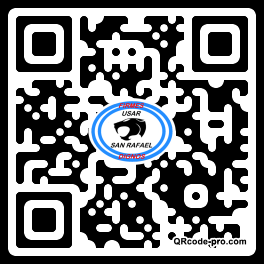 QR code with logo ORN0