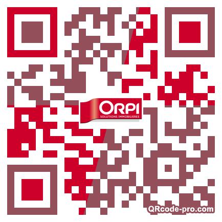 QR code with logo OTi0