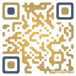 QR code with logo OTs0