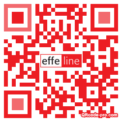 QR code with logo Odc0