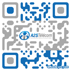 QR code with logo Oem0