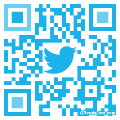 QR code with logo OgB0
