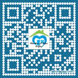 QR code with logo Ok20