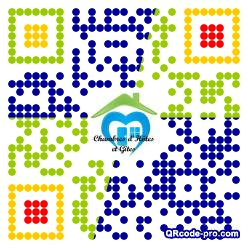 QR Code Design Ok80