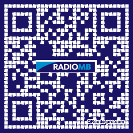 QR code with logo Opb0