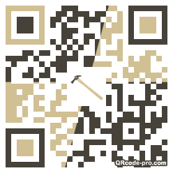 QR code with logo Ow10