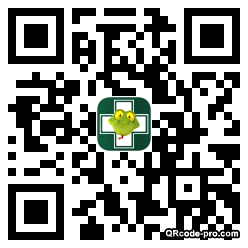 QR code with logo P630