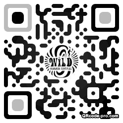 QR code with logo P7x0