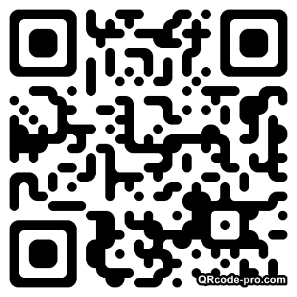 QR code with logo P8H0