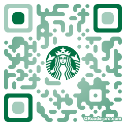 QR code with logo PG70