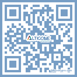 QR code with logo PHr0