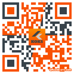 QR code with logo PSS0