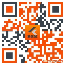 QR code with logo PSZ0