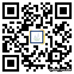 QR code with logo PUh0