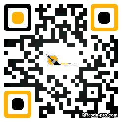 QR code with logo PV60