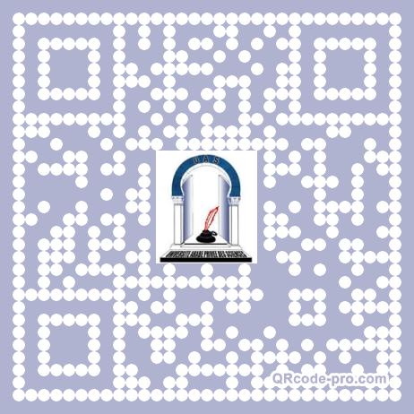 QR code with logo Pbq0