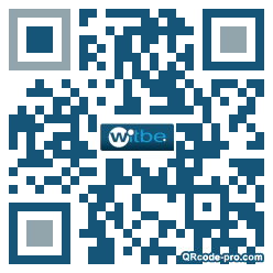 QR code with logo Pc20