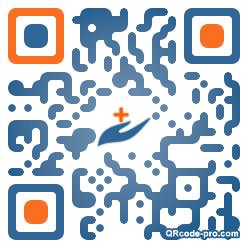 QR code with logo Peu0