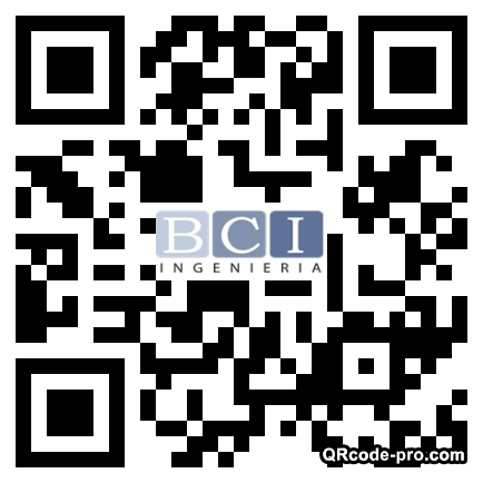 QR code with logo Pl30