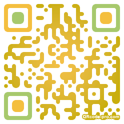 QR code with logo Pp20