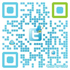 QR code with logo QGG0