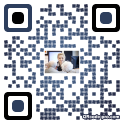 QR code with logo QRl0