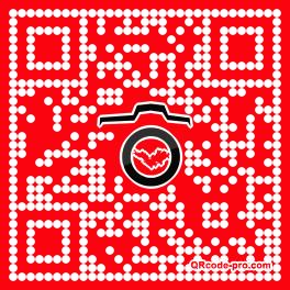 QR code with logo QXc0