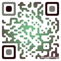 QR code with logo QaL0