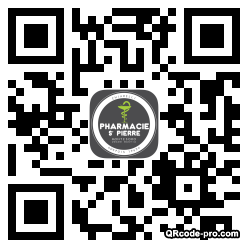 QR code with logo QcC0
