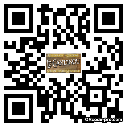 QR code with logo QcT0