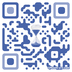 QR code with logo Qg70