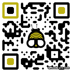 QR code with logo Qi80