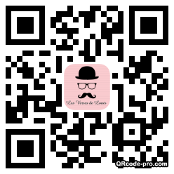 QR code with logo Qy90