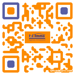QR code with logo R2A0